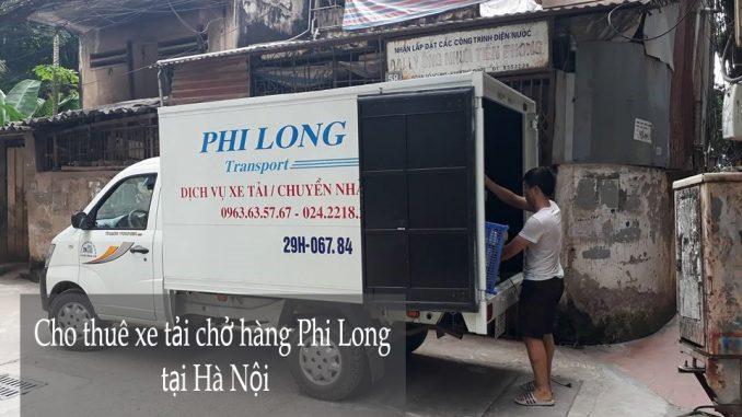 Công ty Phi Long cho thuê xe tải chở hàng tại Hà Nội
