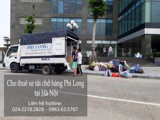 Dịch vụ cho thuê xe tải chuyển nhà tại phố Tương Mai
