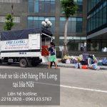 Dịch vụ cho thuê xe tải chở hàng giá rẻ chuyên nghiệp tại phố Nguyễn Cảnh Dị