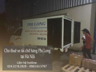 Dịch vụ cho thuê xe tải chở hàng giá rẻ tại phố Trần Nguyên Đán