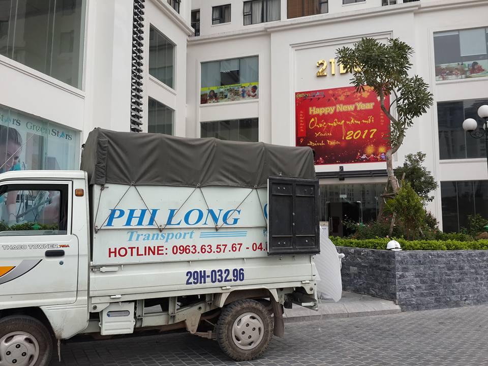 Dịch vụ cho thuê xe tải chở hàng tại phố Sông Lấp