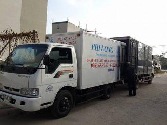 Cho thuê xe tải chở hàng giá rẻ tại phố Đình Ngang
