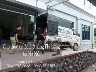Taxi tải Phi Long hãng cho thuê xe tải chở hàng giá rẻ tại phố Pháo Đài Láng
