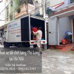Taxi tải chuyển nhà, cho thuê xe tải giá rẻ tại phố Trúc Khê