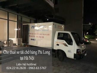 Dịch vụ cho thuê xe tải chở hàng tại phố Thanh Nhàn