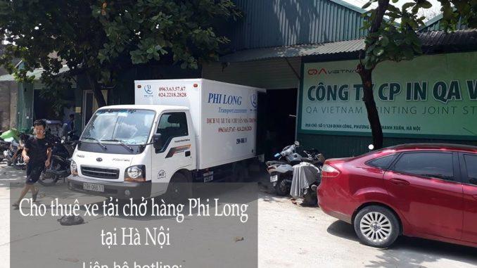 Phi Long cho thuê xe tải giá rẻ tại phố Đông Quang