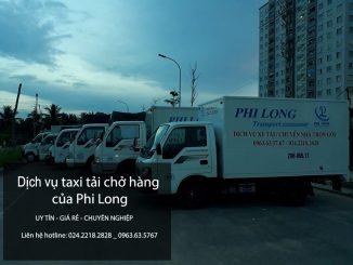 Cho thuê xe tải chở hàng tại phố Nguyễn Thái Học
