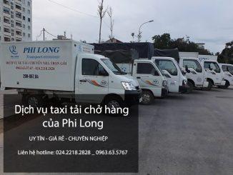 Dịch vụ cho thuê xe tải chở hàng tại phố Đào Tấn