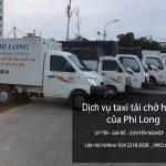 Cho thuê xe tải chở hàng giá rẻ tại phố Phan Kế Bính