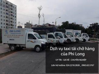 Công ty Phi Long cho thuê xe tải giá rẻ tại phố Kim Mã Thượng