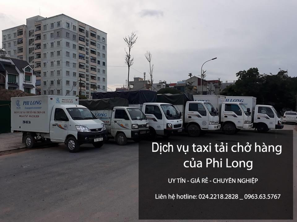 Phi Long cho thuê xe tải chở hàng giá rẻ tại phố Văn Cao