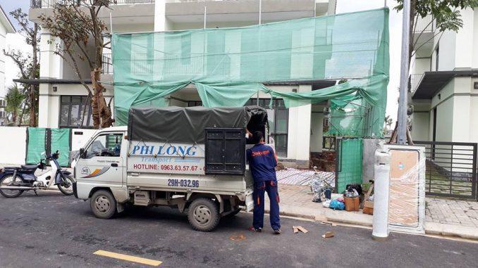 Dịch vụ cho thuê xe tải chở hàng tại phố Quỳnh Mai
