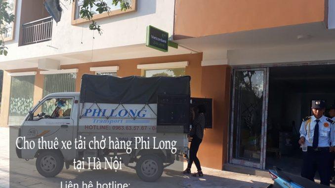 Dịch vụ cho thuê xe tải giá rẻ Phi Long tại phố Trần Phú