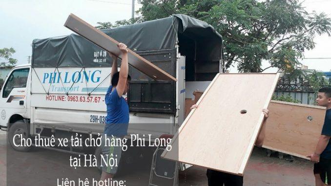 Dịch vụ cho thuê xe tải chở hàng giá rẻ tại phố Lê Hồng Phong