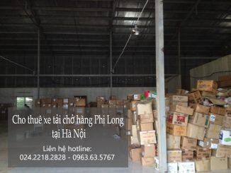 Taxi tải Phi Long tại phố Nam Tràng