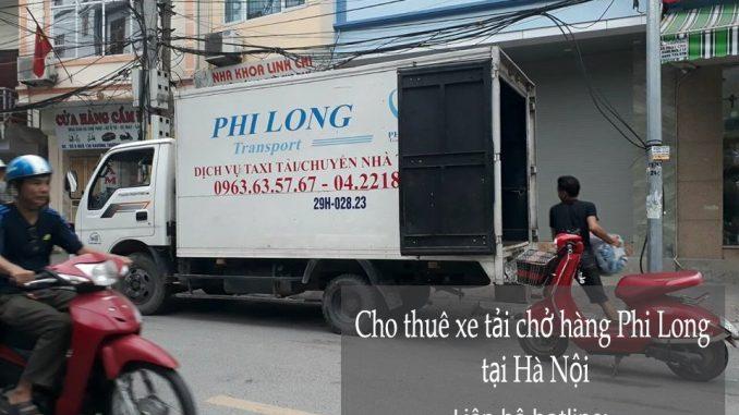 Dịch vụ cho thuê xe tải chở hàng giá rẻ chuyên nghiệp tại phố Mai Động