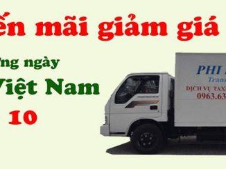 Dịch vụ cho thuê xe tải chở hàng tại phố Nguyễn Chính