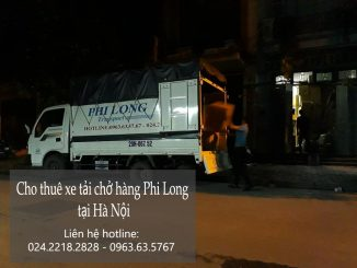 Dịch vụ cho thuê xe tải chở hàng Phi Long tại phố Kim Ngưu