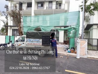 Cho thuê xe tải giá rẻ phố Nguyễn Cao Luyện-0963.63.5767