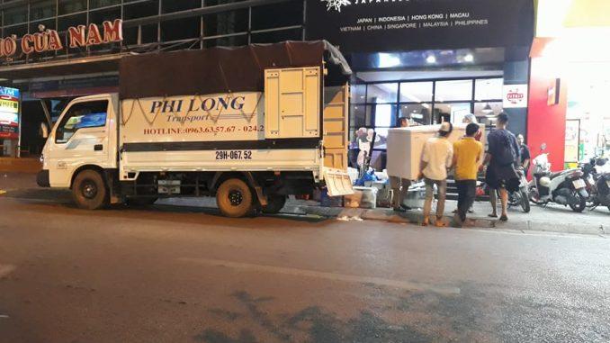 Thuê xe vận chuyển Phi Long