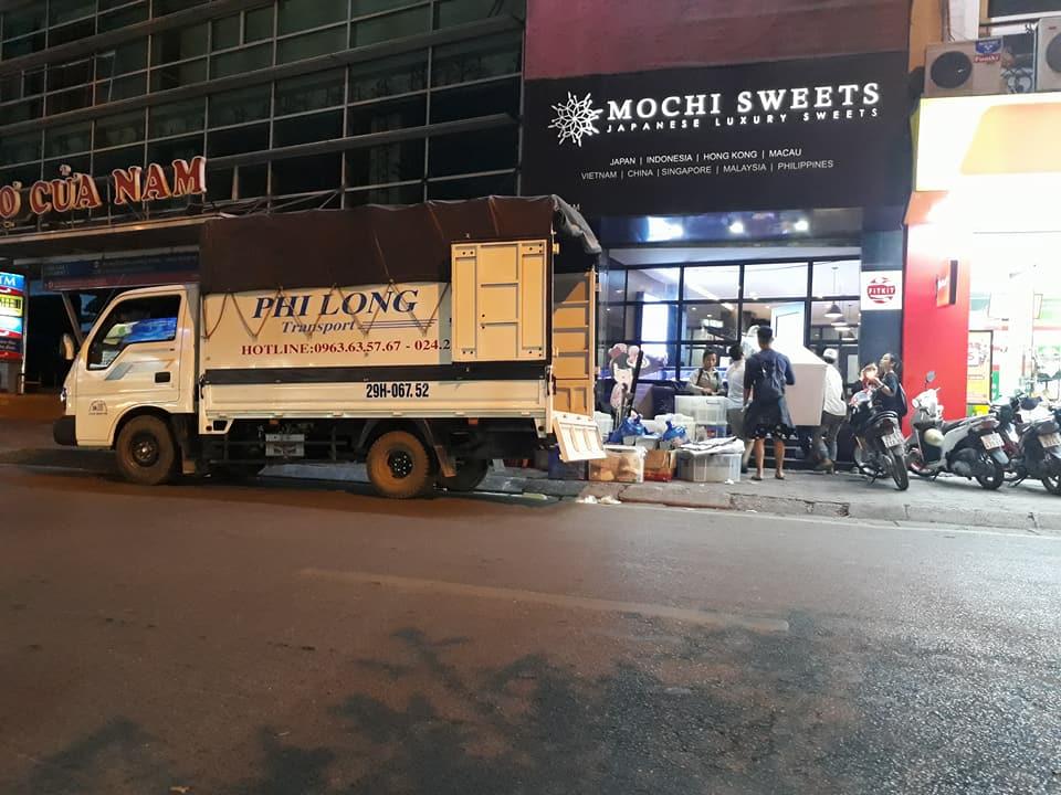 Cho thuê xe tải chở hàng Phi Long tại khu đô thị ecopark