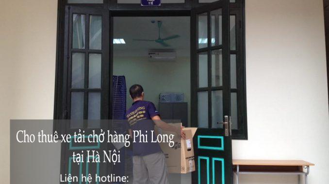 Dịch vụ taxi tải Phi Long tại phố Cát Linh 2019