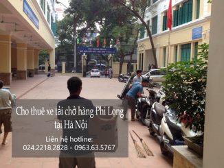 Dịch vụ taxi tải Phi Long tại phố Hạ Yên 2019