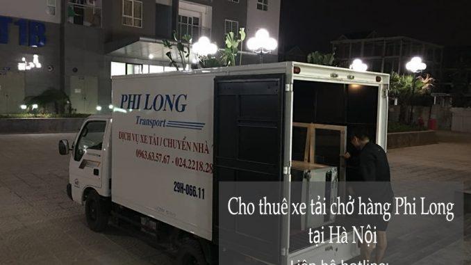 Cho thuê xe tải chuyển nhà tại phố Đặng Dung