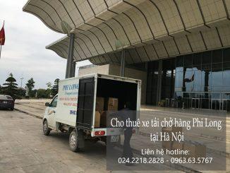 Dịch vụ cho thuê xe tải tại khu đô thị Vinhome Riverside-Long Biên