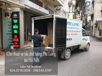 Dịch vụ cho thuê xe tải chở hàng tại phố Nguyễn Công Trứ