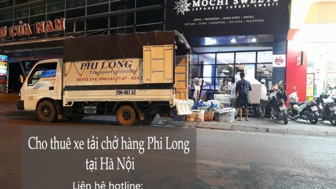 Cho thuê xe tải chở hàng tại phố Tư ĐìnhCho thuê xe tải chở hàng tại phố Tư Đình