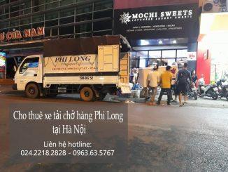 Cho thuê xe tải chở hàng tại phố Thượng Thanh