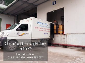 Cho thuê xe tải giá rẻ tại phố Hội Xá
