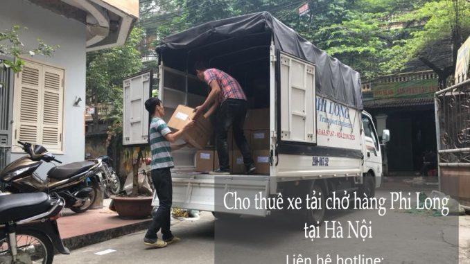 Cho thuê xe tải vận chuyển tại phố Nguyễn Tri Phương