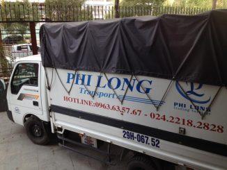 Dịch vụ cho thuê xe tải tại phố Lê Lai