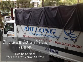 Cho thuê xe tải tại phố Lụa