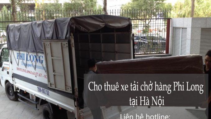 Dịch vụ cho thuê xe tải tại phố Nguyễn Khắc Hạnh