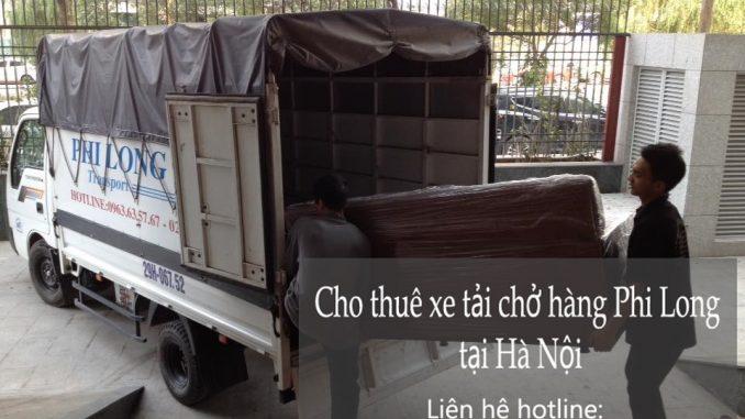 Dịch vụ cho thuê xe tải tại phố Triều Khúc