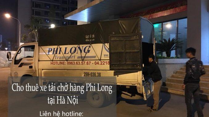 Cho thuê xe tải tại phố Đào Duy Từ
