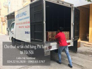 Dịch vụ cho thuê xe tải tại phố Tô Tịch