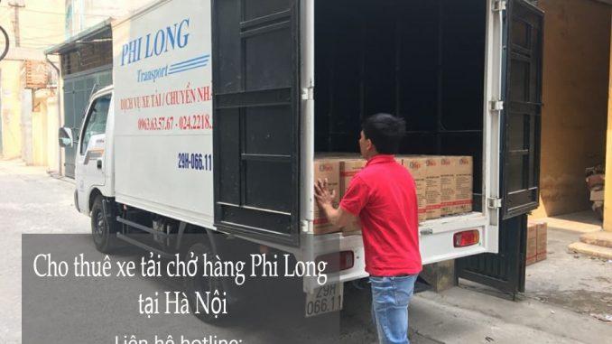 Dịch vụ cho thuê xe tải tại phố Hàng Quạt
