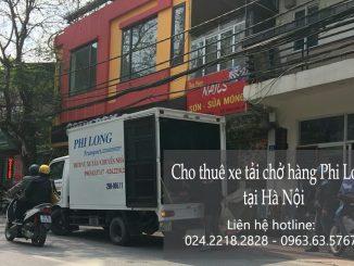 Dịch vụ cho thuê xe tải tại phố Dương Văn Bé