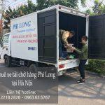 Cho thuê xe tải tại phố Trịnh Hoài Đức
