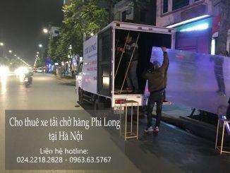Cho thuê xe tải tại phố Phan Văn Trị