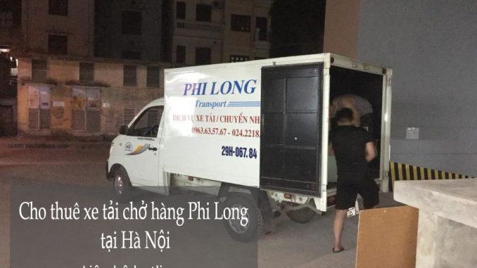 Cho thuê xe tải tại phố Ngô Văn Sở