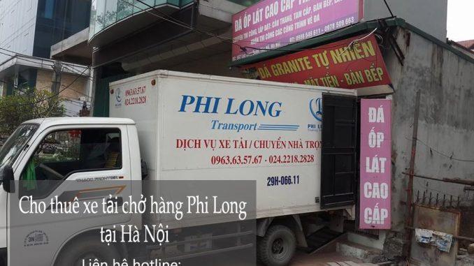 Dịch vụ cho thuê xe tải tại phố Đỗ Hành