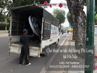 Dịch vụ cho thuê xe tải giá rẻ tại phố Lê Thanh Nghị