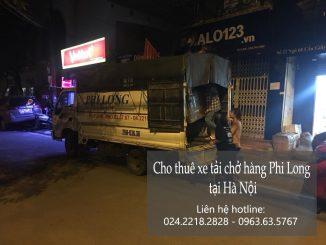 Cho thuê xe tải tại phố Trần Đại Nghĩa
