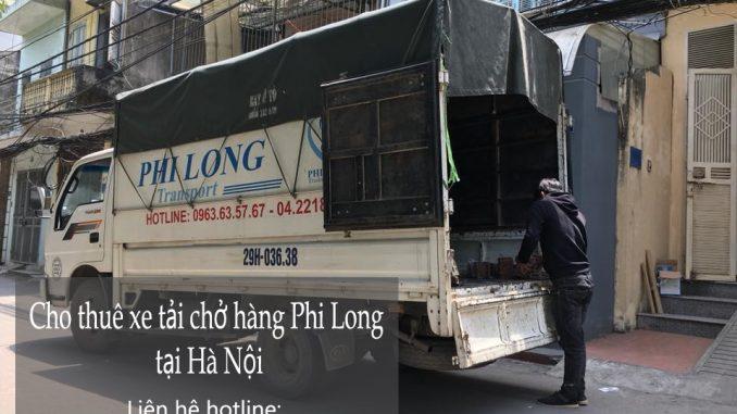 Cho thuê xe tải tại phố Đông Thái