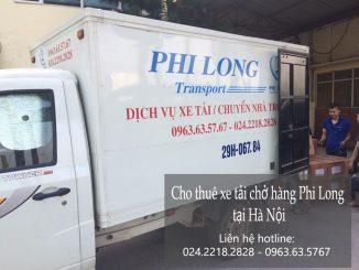 Cho thuê xe tải nhỏ vận chuyển tại phố Nguyễn Chế Nghĩa